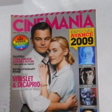 Cine - REVISTA CINEMANIA Nº 160. ENERO 2009. VALKIRIA. TOM CRUISE. REVOLUTIONARY ROAD. DICAPRIO. TDKR5 - 49902650