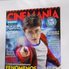 Cine - REVISTA CINEMANIA Nº 164. MAYO 2009. HARRY POTTER. PERDIDOS SERIE. ANGELES Y DEMONIOS. TDKR5 - 49902690
