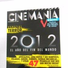 REVISTA CINEMANIA Nº 170 NOVIEMBRE 2009. ESPECIAL TERROR 2012. EL AÑO DEL FIN DEL MUNDO. TDKR5