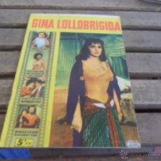Cine: REVISTA DE EXCLUSIVAS FERMA BARCELONA ARTISTAS DE CINE GINA LOLLOBRIGIDA. Lote 50008416