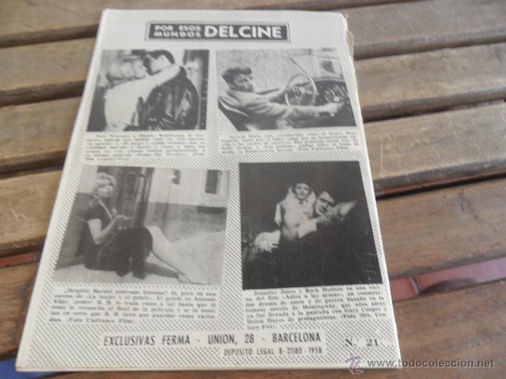 Cine: REVISTA DE EXCLUSIVAS FERMA BARCELONA ARTISTAS DE CINE TONY CURTIS - Foto 2 - 50008441