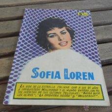 Cine: REVISTA DE EXCLUSIVAS FERMA BARCELONA ARTISTAS DE CINE SOFIA LOREN. Lote 50008455