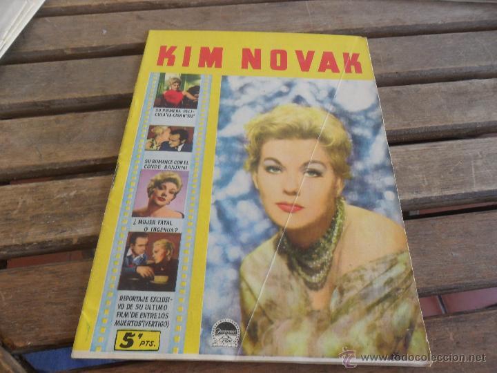 REVISTA DE EXCLUSIVAS FERMA BARCELONA ARTISTAS DE CINE KIM NOVAK (Cine - Revistas - Colección ídolos del cine)
