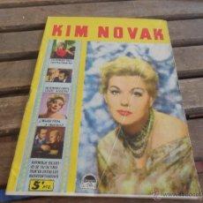 Cine: REVISTA DE EXCLUSIVAS FERMA BARCELONA ARTISTAS DE CINE KIM NOVAK. Lote 50008566