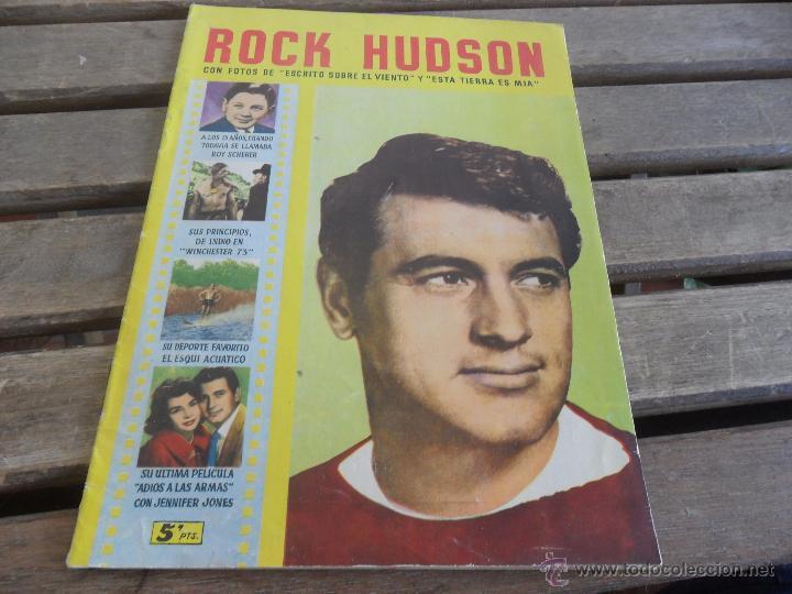 REVISTA DE EXCLUSIVAS FERMA BARCELONA ARTISTAS DE CINE ROCK HUDSON (Cine - Revistas - Colección ídolos del cine)