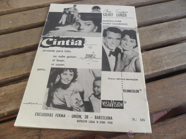 Cine: REVISTA DE EXCLUSIVAS FERMA BARCELONA ARTISTAS DE CINE JAMES STEWART - Foto 2 - 50008617