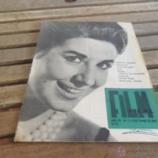 Cine: REVISTA FILM IDEAL Nº 55 Y 56 AÑO 1960 CONCHA VELASCO. Lote 50008735