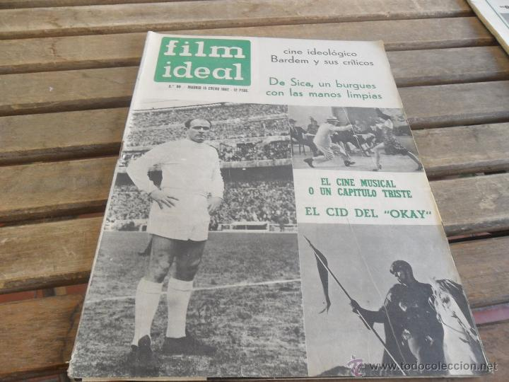 REVISTA FILM IDEAL Nº 88 AÑO 1962 DE SICA (Cine - Revistas - Film Ideal)