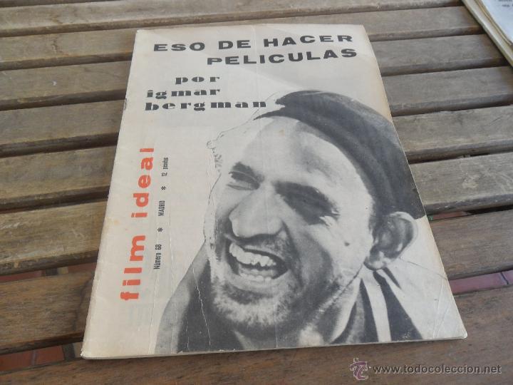 REVISTA FILM IDEAL Nº 68 IGMAR BERGMAN (Cine - Revistas - Film Ideal)