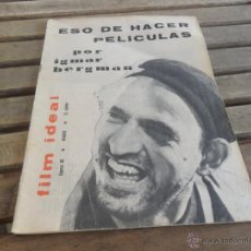 Cine: REVISTA FILM IDEAL Nº 68 IGMAR BERGMAN. Lote 50008791
