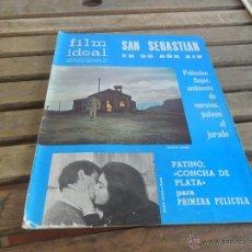 Cine: REVISTA FILM IDEAL Nº 192 AÑO 1966 SAN SEBASTIAN EN SU AÑO XIV. Lote 50008810