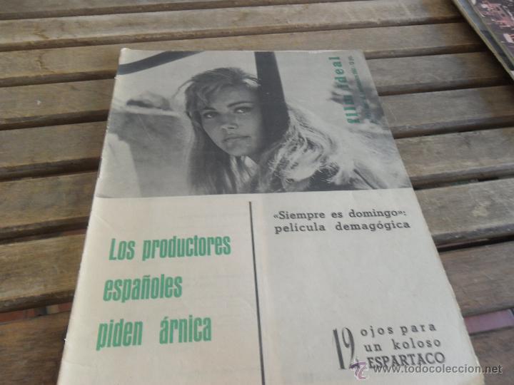 REVISTA FILM IDEAL Nº 83 AÑO 1961 ESPARTACO (Cine - Revistas - Film Ideal)