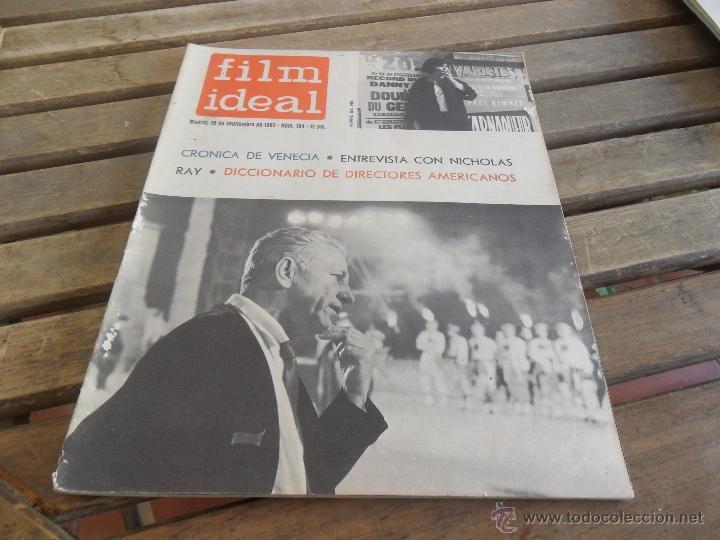 REVISTA FILM IDEAL Nº 104 AÑO 1962 NICHOLAS RAY (Cine - Revistas - Film Ideal)
