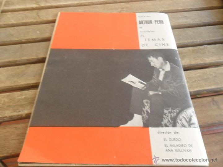 Cine: REVISTA FILM IDEAL Nº 104 AÑO 1962 NICHOLAS RAY - Foto 2 - 50008880