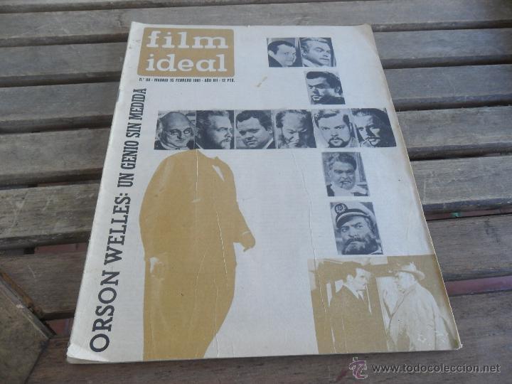 REVISTA FILM IDEAL Nº 90 AÑO 1961 ORSON WELLES (Cine - Revistas - Film Ideal)