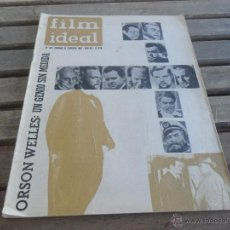 Cine: REVISTA FILM IDEAL Nº 90 AÑO 1961 ORSON WELLES. Lote 50008906