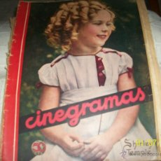 Cine: REVISTA CINEGRAMAS. SHIRLEY TEMPLE.. Lote 69946862