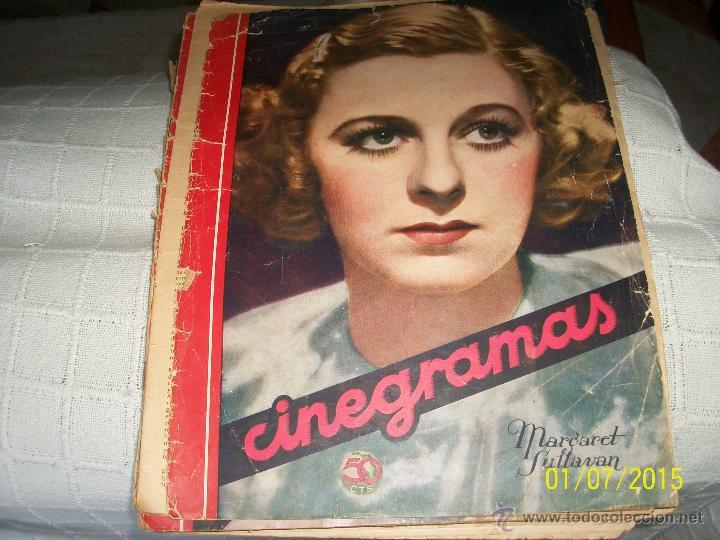 REVISTA CINEGRAMAS. MARGARET SULTAVAN. (Cine - Revistas - Cinegramas)