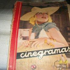 Cine: REVISTA CINEGRAMAS. CAROLE LOMBARD.. Lote 50116910