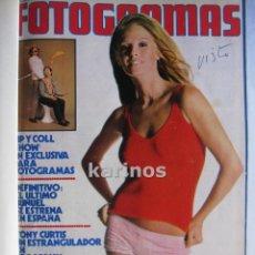Cinema: 18 REVISTAS FOTOGRAMAS 1973-1974 ENCUADERNADAS. Lote 50223511