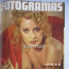 Cine: FOTOGRAMAS AÑO 1977 COMPLETO ENCUADERNADO EN TRES TOMOS . Lote 50223684