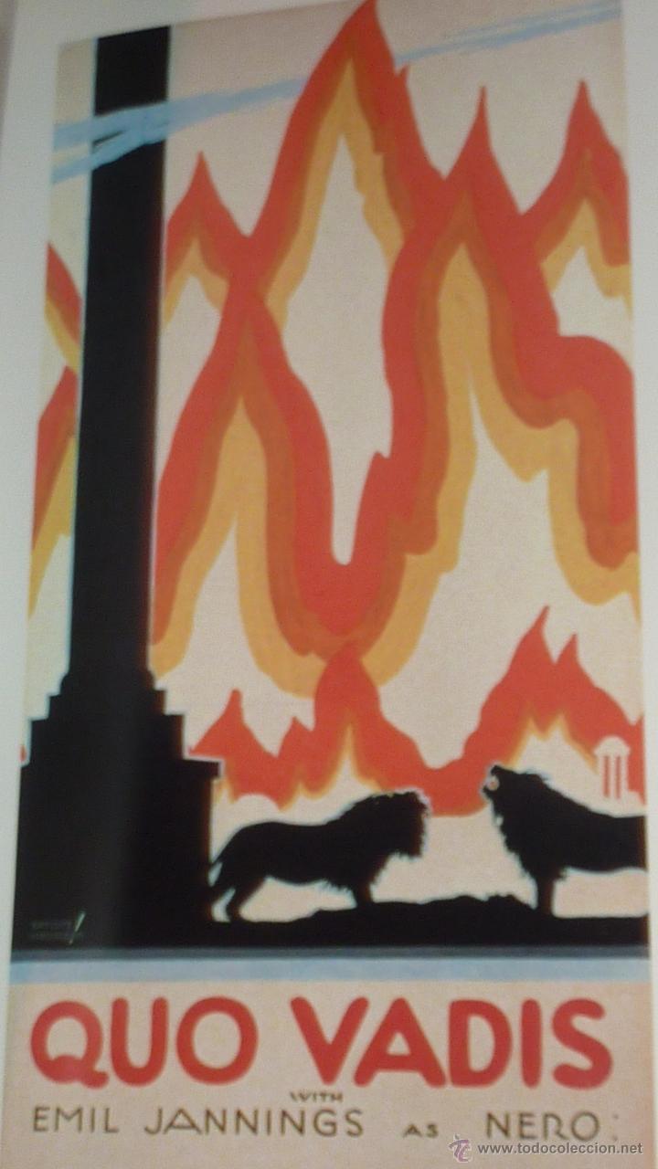 Cine: Libro con 24 carteles peliculas cartel cine . Movie posters . Batiste Madalena 40/ 29 cm EEUU 1986 - Foto 2 - 50276455