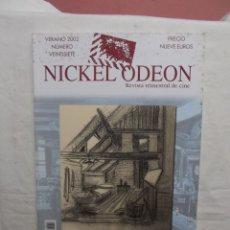 Cine: REVISTA TRIMESTRAL DE CINE NICKEL ODEON VERANO 2002 LA DIRRECION ARTISTICA Nº VEINTISIETE. Lote 50324336