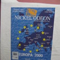 Cine: REVISTA TRIMESTRAL DE CINE NICKEL ODEON VERANO 1999 EUROPA 2000 Nº QUINCE. Lote 50325394