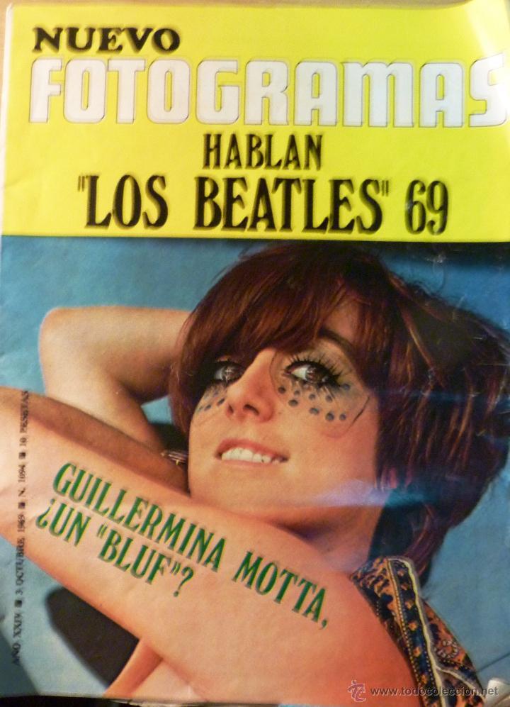 NUEVO FOTOGRAMAS Nº 1094 AÑO 1969 HABLAN LOS BEATLES . GUILLERMINA MOTTA (Cine - Revistas - Fotogramas)