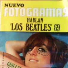 Cine: NUEVO FOTOGRAMAS Nº 1094 AÑO 1969 HABLAN LOS BEATLES . GUILLERMINA MOTTA . Lote 50341030