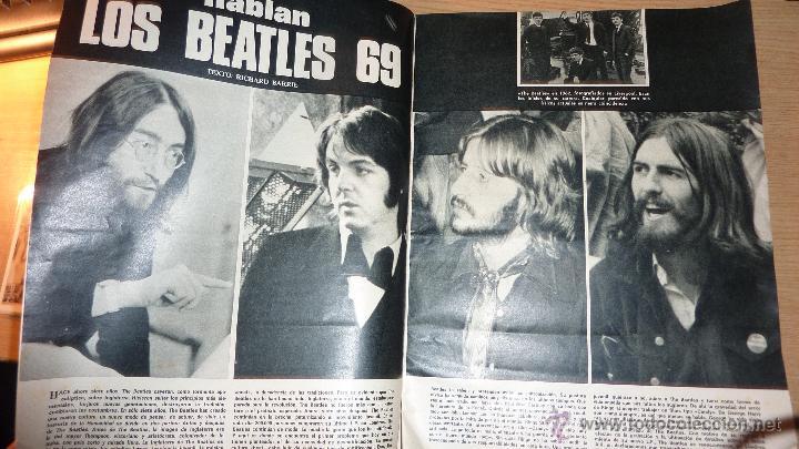 Cine: Nuevo fotogramas nº 1094 año 1969 Hablan los beatles . guillermina motta - Foto 2 - 50341030