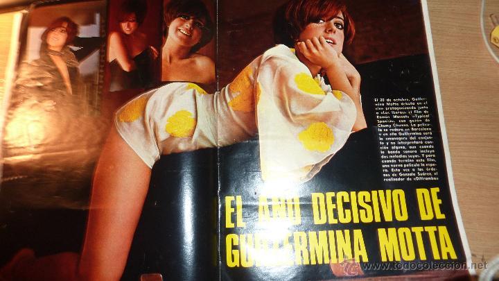 Cine: Nuevo fotogramas nº 1094 año 1969 Hablan los beatles . guillermina motta - Foto 3 - 50341030