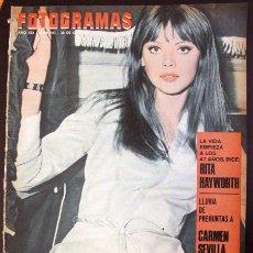 Cine: FOTOGRAMAS Nº 941 - 28 OCTUBRE 1966 BRITT EKLAND RITA HAYWORTH CARMEN SEVILLA MARISOL . Lote 51620621