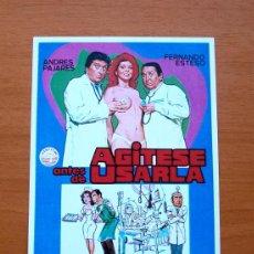 Cine: AGITESE ANTES DE USARLA - ANDRÉS PAJARES, FERNANDO ESTESO, ANTONIO OZORES, JENNY LLADA. Lote 194937420