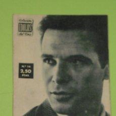 Cine: REVISTA Nº 14 COLECCION IDOLOS DEL CINE . AÑO 1958 . FRANCISCO RABAL .. Lote 50373212