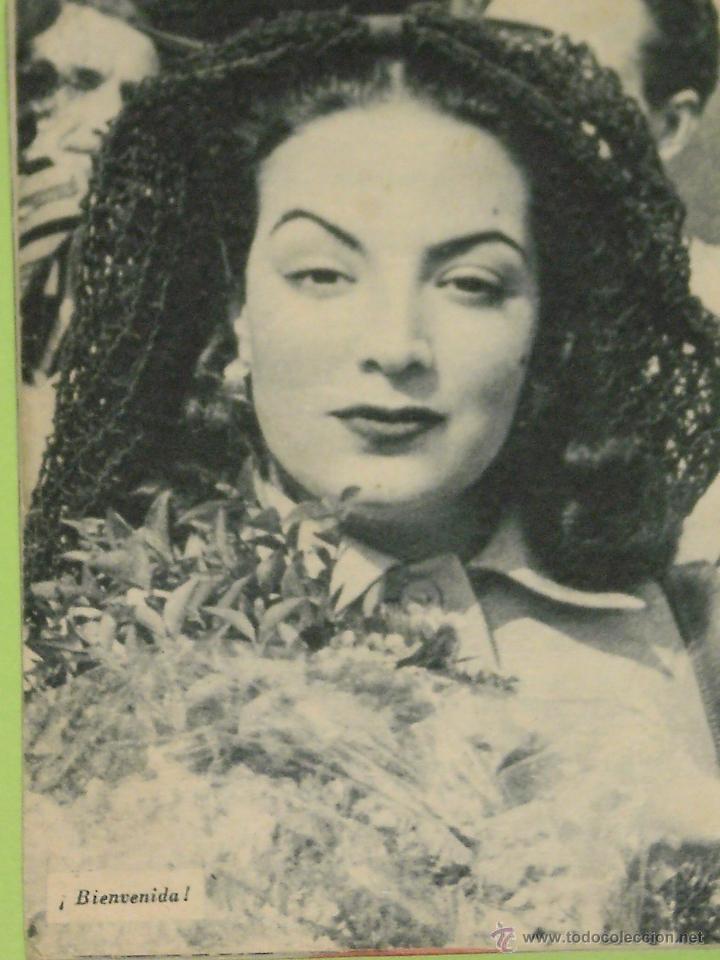 Cine: REVISTA Nº 19 COLECCION IDOLOS DEL CINE . AÑO 1958 . MARIA FELIX . - Foto 2 - 50373229