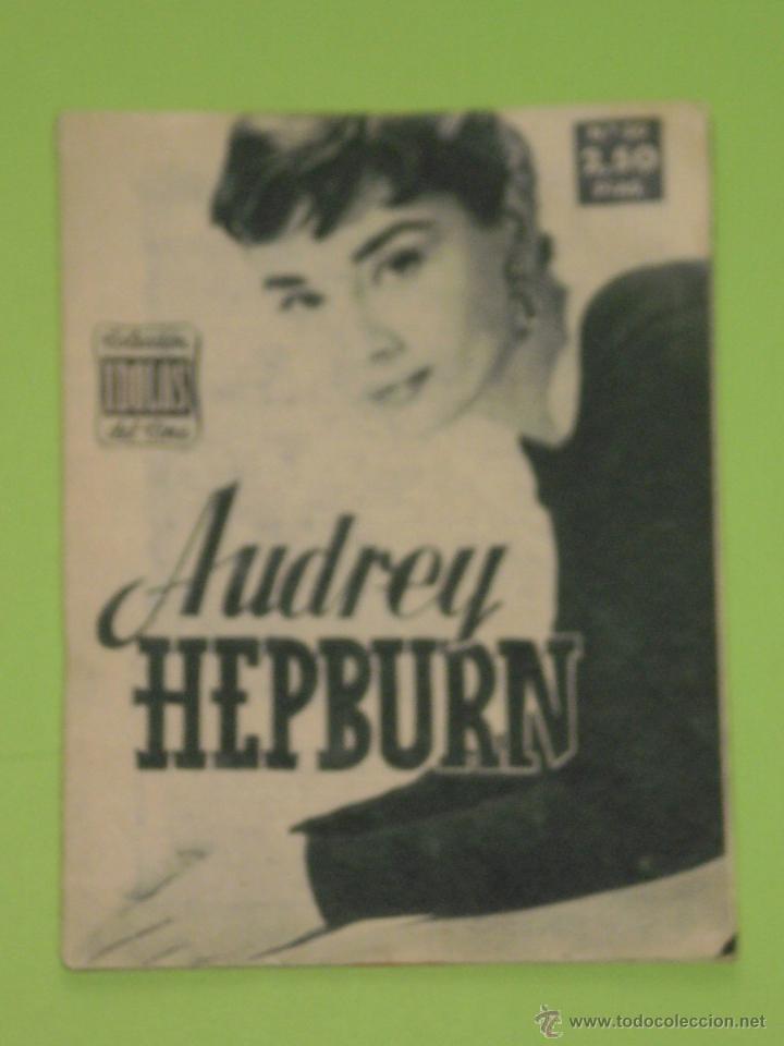 REVISTA Nº 20 COLECCION IDOLOS DEL CINE . AÑO 1958 . AUDREY HEPBURN . (Cine - Revistas - Colección ídolos del cine)