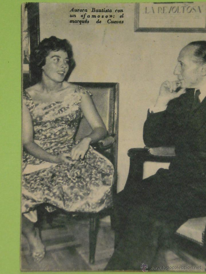 Cine: REVISTA Nº 31 COLECCION IDOLOS DEL CINE . AÑO 1958 . AURORA BAUTISTA . - Foto 2 - 50373254