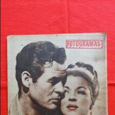 Cine: FOTOGRAMAS Nº 221, 20/2/1953, CLAIRE TREBOY ROBERT RYAN. Lote 50413029