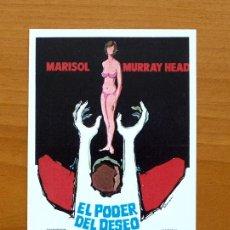 Cine: EL PODER DEL DESEO - MARISOL, MURRAY HEAD. Lote 194996530