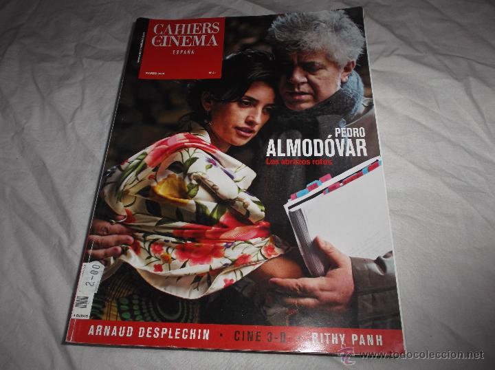 CAHIERS DU CINEMA Nº 21. PEDRO ALMODOVAR. LOS ABRAZOS ROTOS. ARNAUD DESPLECHIN. RITHY PANH. (Cine - Revistas - Otros)