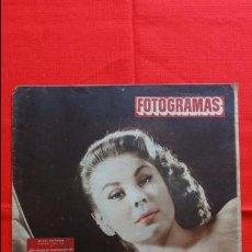 Cine: FOTOGRAMAS Nº 219, MITZI GAYNOR, 30/1/1953, BUEN ESTADO.. Lote 50426098