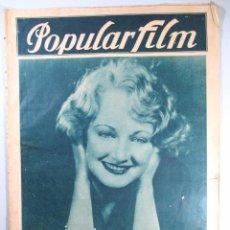 Cine: POPULAR FILM , REVISTA DE CINE , NÚMERO 113 , AÑO 1928. Lote 50467079