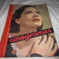 Cine: CINEGRAMAS Nº 32. KAY FRANCIS. EL TORNO AL CINEMA NACIONAL.. Lote 117973970