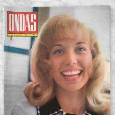 Cine: REVISTA ONDAS - Nº 435 - 1971 - KARINA, MANUEL DICENTA, RAPHAEL, DOLORES VARGAS, BEATLES. Lote 50534711