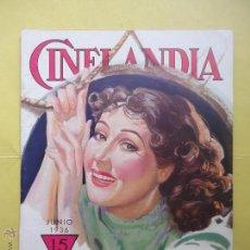 Cinema: CINELANDIA. TOMO X. Nº 6. 1936.. Lote 50557787