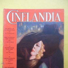 Cinema: CINELANDIA. TOMO VIII. Nº 12. 1934.. Lote 50557844