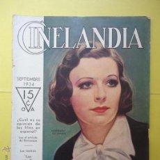 Cinema: CINELANDIA. TOMO VIII. Nº 9. 1934.. Lote 50557852