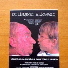 Cine: DE HOMBRE A HOMBRE - FERNANDO FERNÁN GÓMEZ, Mª LUISA SAN JOSE, MANUEL TEJADA, JORGE NOGUERA. Lote 195271512