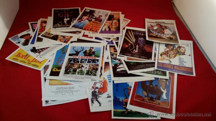REPRODUCCIÓN DE FOLLETOS DE MANO DE PELÍCULAS. LOTE DE 50 UNIDADES (Cine - Reproducciones de carteles, folletos...)